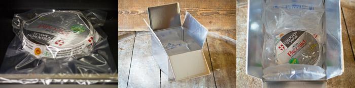 Emballage sous vide des fromages